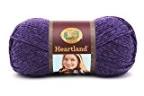 Lion Brand Yarn 142 g Heartland en acrylique de ressorts, Hot