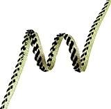 Lip Cord Passepoil Noir 7,62 Mm Large Dentelle Braid Couture Craft Par 18 Yards