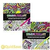Livre de coloriage adulte Anti-stress Art Thérapie positive Zen Apaisant 120pages