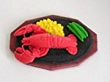 Lobster Dinner Plate Japanese Eraser. 2 Pack. By PencilThings by PencilThings