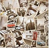 Lot de 32 cartes postales vintage architecture paysage voyage vœux/cadeaux