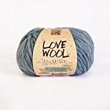Love Wool, épais Mèche de fil de Katia dans bleu clair (110)