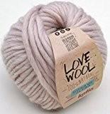 Love Wool Katia # 101Pelotte de laine de 100g 85% laine 15% alpaga - À utiliser avec de très grosses ...