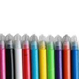 Lrsupplies Lot de 10stylos de peinture sur tissu, résistant à l'eau, conviennent pour la plupart des tissus