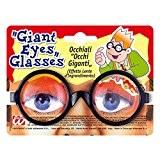 Lunettes yeux globuleux géants lunettes fantaisies pour dormir farces et attrapes rigolo idiot geek accessoire bad taste party déguisement