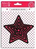 Mademoiselle Toga DCG002 Dies Cut-It-All Matrices de découpe Métal Noir 12.5 x 17.5 x 0.2 cm