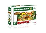 Mako Créations - 39018 - Kit de Loisirs Créatifs - Dinosaures - 6 Pièces