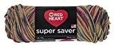Manteaux fil coeur rouge Super Saver désert yarn-painted, d'autres, multicolore