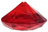Marque Place Diamant Rouge x4 - Taille Unique