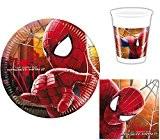 Marvel - Spiderman - Kit Vaisselle jetable Anniversaire pour 8 enfants