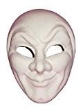 Masque vénitien Venise Buys Blanc Joker Grezzo vénitien masque de mascarade pour décoration Blanc
