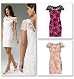 McCalls 6505 Patron de couture femme Grandes tailles :  Bristol Novelty 6-8- usure