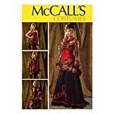 McCalls Mesdames Atelier 6911Patron de Couture Costume Historique Bolero, corset, jupe et overskirt + sans Minerva Crafts Craft Guide