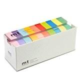 Mt Washi Masking Tapes Set of 10 - Bright Colors