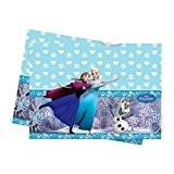 Nappe bleue en plastique La Reine Des Neiges 120 x 180 cm - Taille Unique