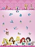 Nappe en plastique Disney Princess et animaux, 1,8m x 1,2m