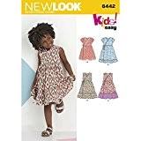 NEW LOOK de facile pour enfant robes patron de couture, papier