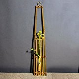 OLQMY-Artisanat de bambou, étagère, ornements naturels, accessoires de cérémonie,C