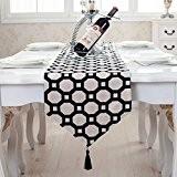OLQMY-Décoration de table,Drapeau de table de luxe haut de gamme moderne simple, pastoral chinois café nappe, linge de lit, nappes ...