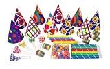 P'TIT CLOWN 36388 Cotillons - Sachet 10 Personnes - Multicolore