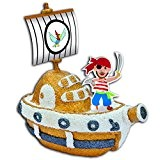 Padaboo PMZ503 Kit de pâte à modeler Bateau de pirate  Multicolore 14,5  x  15  x  ...