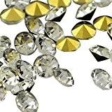 PandaHall- Cristal Strass Decoration de Vetements en Verre en Forme de Diamant; 2.7~2.8mm, 200pcs