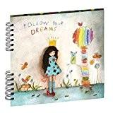 Panodia 271278 Artist Album Photos Traditionnel 40 Pages 80 Vues Follow Your Dreams Papier Multicolore 3 x 25,7 x 23,2 ...