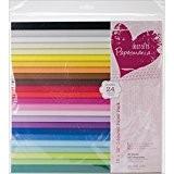 Papermania Capsule Bloc de 48 feuilles de papier coloré Multicolore 30,5x30,5cm