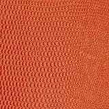 Papier Skivertex® simili cuir lézard orange 68x100cm