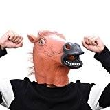 Party Story Latex masque de tête de cheval caoutchouc masque de costume animal pour le soir cosplay