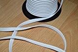 Passepoil coton blanc, de belle qualité (au mètre)
