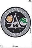 Patches - Apollo - NASA - Space Patch - Weltraum - Astronaut - Patches - Applique embroidery Écusson brodé Costume ...