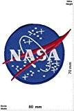 Patches - NASA darkblue -new - Aéronautique et espace - Nasa - Nasa- Applique embroidery Écusson brodé Costume Cadeau - ...