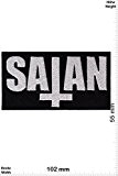Patches - Satan -New-Wave-of-British-Heavy-Metal-Band - Musicpatch - Rock - Vest - Iron on Patch - Applique embroidery Écusson brodé Costume ...