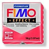 Pâte Fimo Effect 56gr Rouge translucide (n°204)