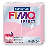 Pâte Fimo Effect 57gr Rose Pastel (n°205)
