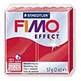 Pâte Fimo Effect 57gr Rouge rubis métallisé (28)