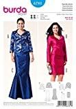 Patron de couture Burda 6781 Veste-Femme-Jupe droite & 19