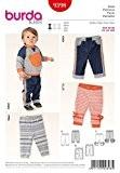 Patron de couture Burda bébé facile 9398Pantalons + sans Minerva Crafts Craft Guide