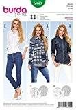 Patron de couture Burda Femme - 6849-Chemises 3 Styles