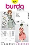 Patron de couture Burda femme Style Vintage 7179 &accessoires robes Tailles: 6