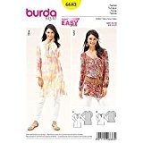 Patron tunique femme - Burda 6683