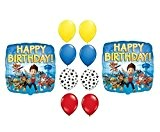 PAW Patrol Happy Birthday Balloons Supplies by Party Supplies