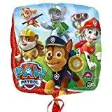 Paw Patrol - Party Anniversaire Ballon Feuille Little Heroes 43cm