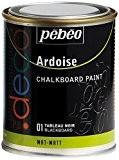 Pébéo 093501 Déco Acrylique Ardoise 1 Boîte Métal Tableau Noir 250 ml