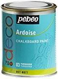 Pébéo 093503 Déco Acrylique Ardoise 1 Boîte Métal Turquoise 250 ml