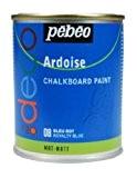 Pébéo 093508 Déco Acrylique Ardoise 1 Boîte Métal Bleu Roi 250 ml