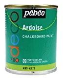 Pébéo 093509 Déco Acrylique Ardoise 1 Boîte Métal Vert Écolier 250 ml