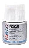 Pébéo 285039 Déco Acrylique 1 Flacon Argent 45 ml