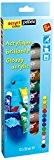 Pébéo Acrylcolor Kit découverte de peinture 12 tubes de 20 ml Assorties